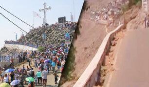 A casi un año del accidente, muros de contención del cerro San Cristóbal no se han reforzado