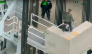 EEUU: policía salva a hombre que estaba a punto de suicidarse