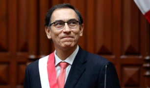 Presidente Vizcarra: conversación telefónica con PPK fue de carácter protocolar
