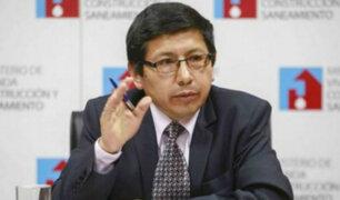 Nombran a Edmer Trujillo como nuevo ministro de Transportes y Comunicaciones
