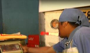 Ventanilla: decomisan balanzas adulteradas en terminal pesquero
