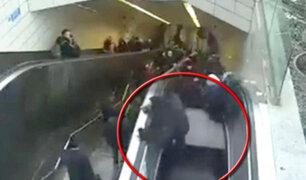 """Turquía: escalera eléctrica se """"tragó"""" a un hombre en metro en Estambul"""