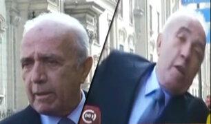 Congresista Guido Lombardi es agredido durante enlace en vivo
