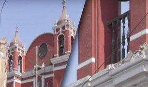 Centro de Lima: varias iglesias presentan serios daños en sus estructuras