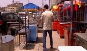 La Victoria: comerciantes invaden pistas y veredas para vender sus productos