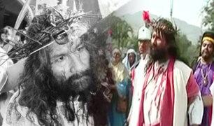 """""""Cristo Cholo"""" escenifica vía crucis en cuartel militar del Rímac"""