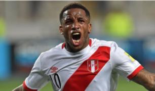 Jefferson Farfán en el top 3 de máximos goleadores de Perú
