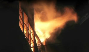 Callao: dos niñas mueren tras voraz incendio en su vivienda