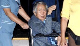 Expresidente Fujimori recibió alta médica y dejó clínica Centenario