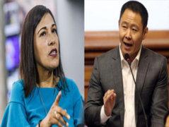 Congresista Milagros Salazar cuestiona actitud de Kenji Fujimori