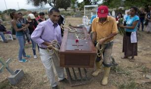 Venezuela: así fue el entierro de presos fallecidos en interior de prisión