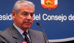 Diferentes bancadas congresales expresan su apoyo a Gabinete Villanueva