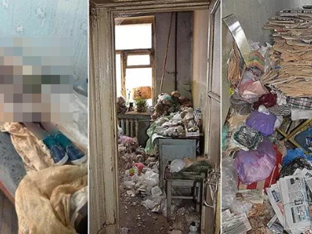 Ucrania: mujer guardó durante 30 años el cadáver momificado de su madre