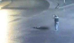 ¡Horrendo feminicidio! Sujeto asesina a golpes y con una roca a su pareja en Rusia