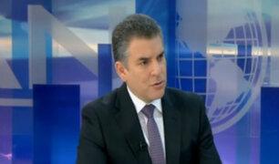 Fiscal Rafael Vela habla sobre posible liberación de Humala y Heredia