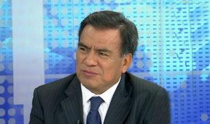 """Javier Velásquez Quesquén: """"Premier debe persuadir al Congreso"""""""