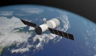 Estación espacial China cayó en el Pacífico Sur