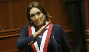 Patricia Donayre presenta proyecto de ley para eliminar inmunidad parlamentaria