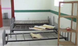 Huaraz: centro de salud de Pampas luce en completo estado de abandono