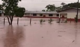 Callao: colegio queda inundado por colapso de desagüe