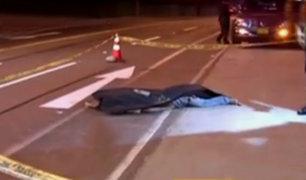 San Miguel: hombre muere tras ser arrollado en la Costa Verde