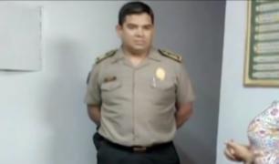 SJL: detienen a comisario de la Huayrona por extorsión