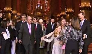 España: reina Letizia y su suegra protagonizan tenso momento