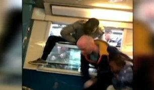 Francia: continúa huelga de ferroviarios