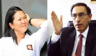 ¿El presidente Vizcarra debe reunirse con Keiko Fujimori?, congresistas opinan al respecto