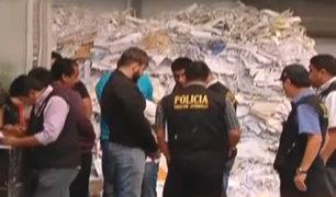 Trasladan a la Dirandro a detenidos con cocaína valorizada en US$ 40 millones