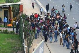 Un grupo de estudiantes tomó las instalaciones de la universidad de San Marcos