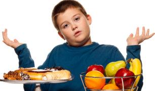 Más de 30% de niños de 10 años tienen problemas de obesidad y sobrepeso