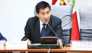 Fiscalía someterá a análisis digital videos entregados por Moisés Mamani