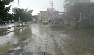 Piura: intensas lluvias provocan desbordes y alarman a la población