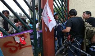 San Marcos: rectorado autoriza ingreso de la Policía tras toma de la universidad