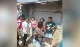 Tumbes: vecinos se enfrentan por construcción de pista