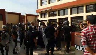 UNMSM: alumnos denuncian haber sido agredidos por la policía