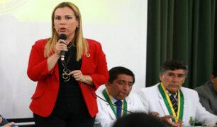 Fiorella Molinelli: formalizan investigación a presidenta de Essalud por adenda en contrato de aeropuerto de Chinchero