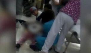 Miraflores: mujer dio a luz en piso de hospital por presunta negligencia