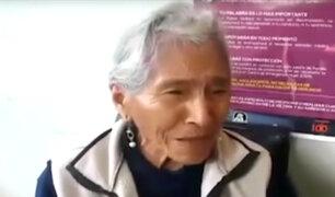 Cusco: policía en retiro golpea brutalmente a su madre
