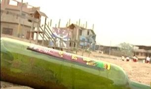 Chorrillos: personas se amanecen bebiendo en playa La Herradura