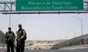 EEUU: Arizona despliega a los primeros 225 militares en la frontera con México