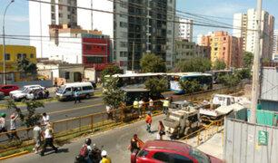 Jesús María: choque múltiple en la av. Brasil deja doce heridos