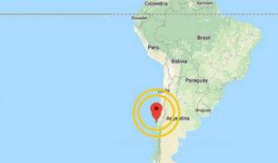 Chile: sismo de 6.2 grados remeció el país vecino