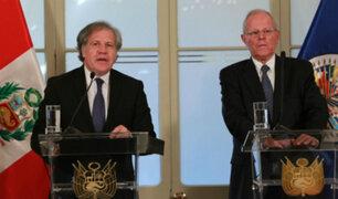 Secretario general de la OEA habría intentado salvar de la vacancia a PPK
