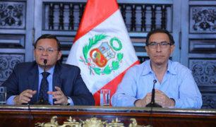 Presidente Vizcarra reitera que Maduro no está invitado a la Cumbre de las Américas