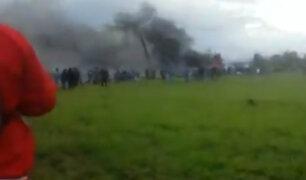 Argelia: avión se estrella con más de 100 pasajeros a bordo