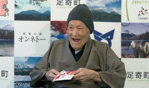 Japón: el hombre más viejo del mundo tiene 112 años