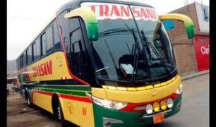 Buses interprovinciales violan la ley y ponen a pasajeros en riesgo