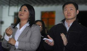 Congreso: reacciones tras caída de Keiko y Kenji Fujimori en las encuestas